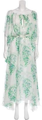 Rosie Assoulin Silk Maxi Dress