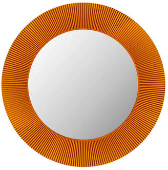 Kartell All Saints Round LED Mirror - Amber