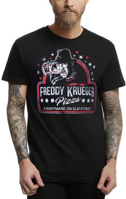 Freddy Animation Shops Nightmare on Elm Street Krueger Pizza T-Shirt