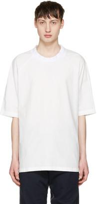 Sunnei White Oversized T-Shirt $230 thestylecure.com