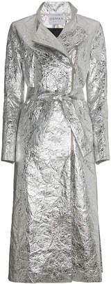 Metallic Joplin trench coat