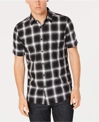 American Rag Men's Wes Plaid Pocket Shirt