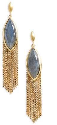 Women's Dean Davidson Ornate Semiprecious Stone Fringe Earrings $255 thestylecure.com