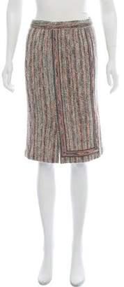 Missoni Knee-Length Tweed Skirt