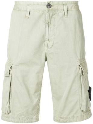 Stone Island slim-fit cargo shorts