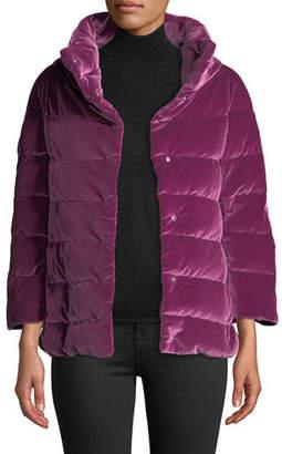Herno Velvet Quilted Down Jacket