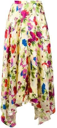 Saloni Lemon Poppies skirt