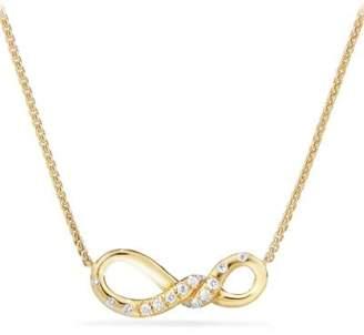 David Yurman Continuance® Small Pendant Necklace With Diamonds In 18K