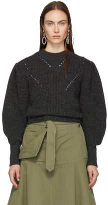 Isabel Marant Grey Wool Belaya Sweater