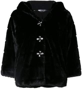 Liu Jo faux-fur fitted jacket