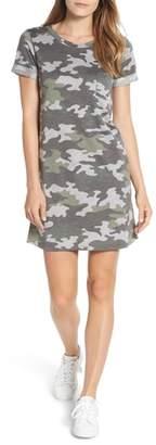 Caslon Camo Knit Dress