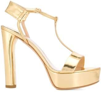 The Seller platform t-bar sandals
