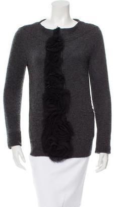 Vera Wang Cashmere Embellished Cardigan $125 thestylecure.com