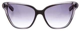 Bottega Veneta Speckled Cat-Eye Sunglasses