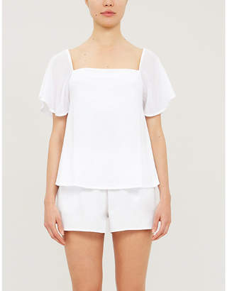 Skin Jo cotton-jersey pyjama shorts