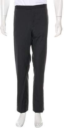 Lanvin Wool & Silk Tuxedo Pants