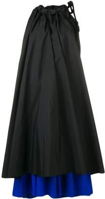 Marques Almeida Marques'Almeida colour-block oversized dress