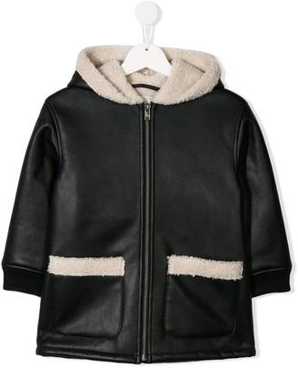 Stella McCartney faux shearling jacket
