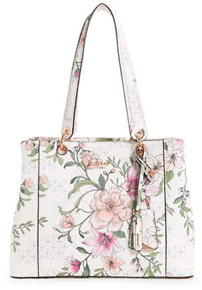 GUESS Kamryn Floral Shopper Tote