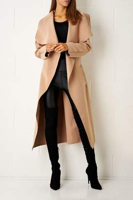 Frontrow Camel Waterfall Coat