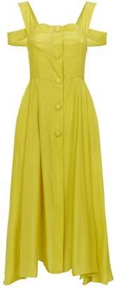 Isa Arfen Positano Cold-Shoulder Dress
