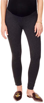 Ingrid & Isabel Skinny Ponte Pant With Crossover Belly Panel