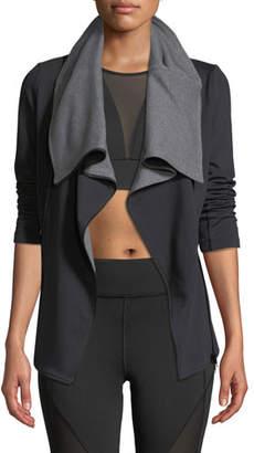 Michi Lotus Zip-Front Active Jacket