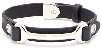 Dunhill Hex leather bracelet