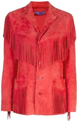 Ralph Lauren fringed jacket