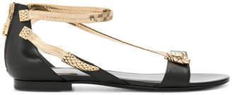 Roberto Cavalli open toe embellished sandals