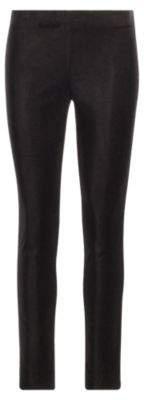 Ralph Lauren Stretch Velvet Skinny Pant Polo Black 2