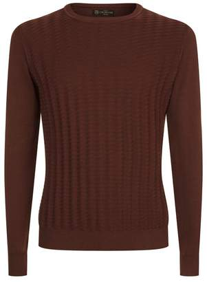 Corneliani Textured Knitted Sweater