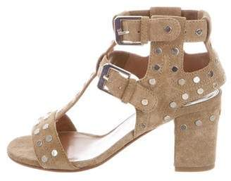 Laurence Dacade Studded T-Strap Sandals w/ Tags
