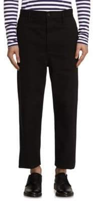 Burberry Cropped Twill Trousers