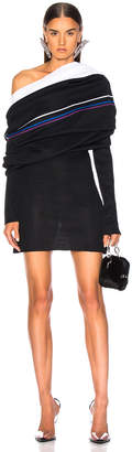 Y/Project Off Shoulder Knit Dress