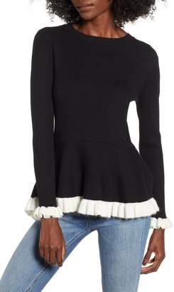 Endless Rose High/Low Peplum Sweater