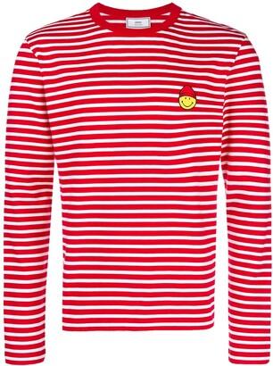 Ami Paris SMILEY パッチ Tシャツ