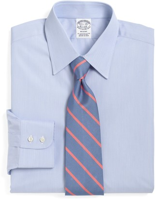 Brooks Brothers Regent Fitted Dress Shirt, Tennis Collar