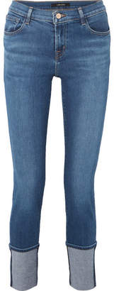J Brand Maude Mid-rise Slim-leg Jeans