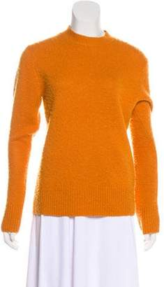 Acne Studios Long Sleeve Wool & Cashmere-Blend Sweater