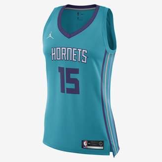 Jordan Kemba Walker Icon Edition Swingman (Charlotte Hornets) Women's NBA Connected Jersey