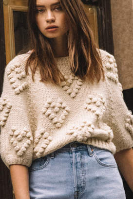 Callahan Cropped Pullover Sweater