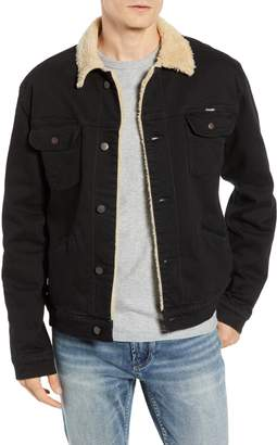 Wrangler Heritage Fleece Lined Denim Jacket