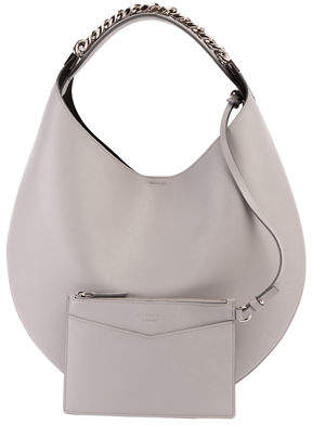 Givenchy Infinity Small Leather Chain Hobo Bag