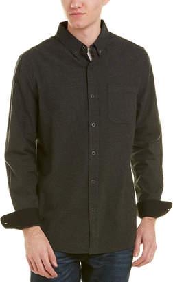AG Jeans Caleb Woven Wool-Blend Shirt