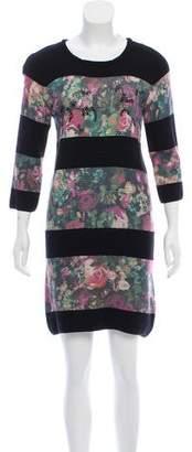 Patrizia Pepe Printed Mini Dress