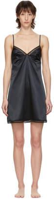 Implicite Black Capture Slip Dress