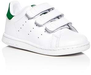 adidas Unisex Stan Smith Velcro® Strap Sneakers - Walker, Toddler