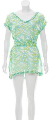 Diane von Furstenberg Printed Mini Dress