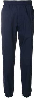 Versace elasticated waist trousers